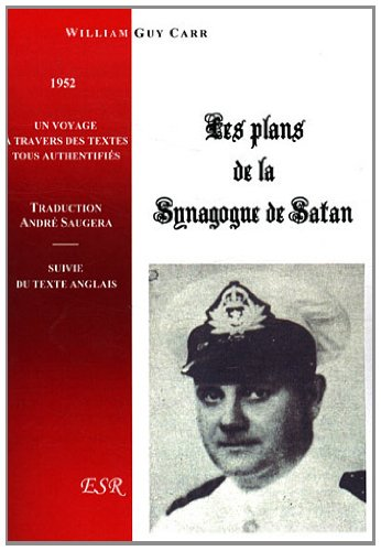 9782845197237: Les plans de la Synagogue de Satan