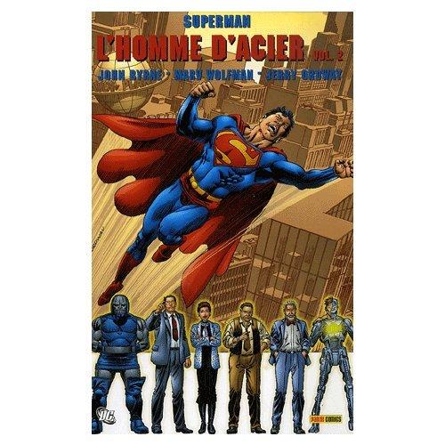 9782845389526: Superman : l'homme d'acier, Tome 2 (French Edition)