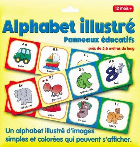 9782845404106: Panneau éducatif/alphabet illustre