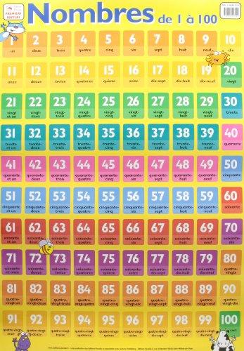 9782845407220: P* posters / les nombres de 1 a 100