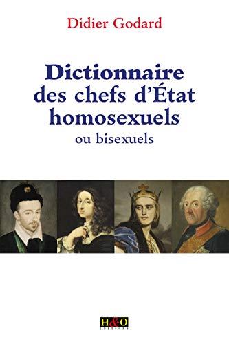 9782845470903: Dictionnaire des chefs d'Etat homosexuels ou bisexuels