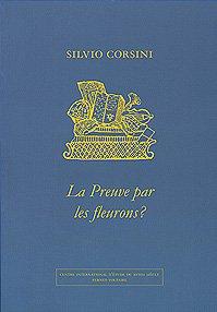 9782845590007: La preuve par les fleurons ? Analyse compar�e du mat�riel ornemental des imprimeurs suisses romands 1775-1785