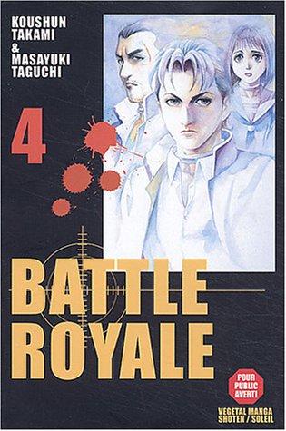BATTLE ROYALE T04 : I'LL BE BACK: KOUSHUN TAKAMI