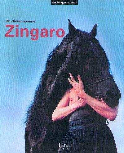 9782845670167: Un cheval nommé Zingaro (Des images au mur)