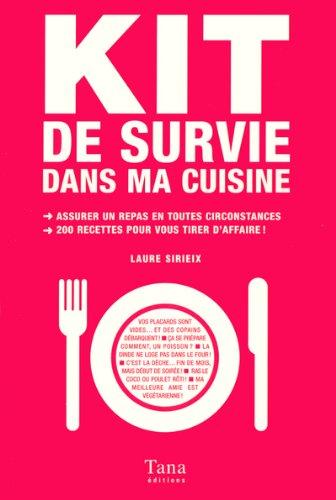9782845671874: Kit de survie dans ma cuisine