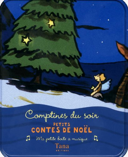 9782845677920: Comptines du soir : Petits contes de Noël