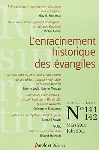 9782845739215: Résurrection, N° 141-142, Mars 201 : L'enracinement historique des évangiles