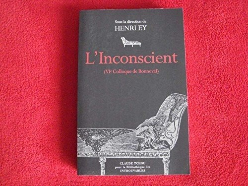 9782845751873: L'Inconscient (French Edition)