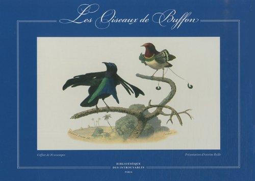 Les Oiseaux de Buffon : Coffret de 20 estampes: Antoine Reille; Buffon