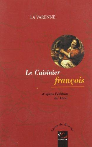 9782845780262: Le Cuisinier François