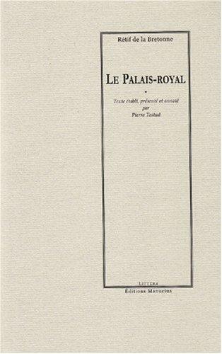 9782845781030: Le Palais-Royal