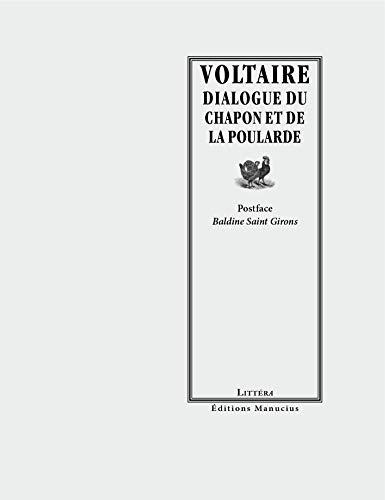 Dialogue du chapon et de la poularde (Littéra) - Voltaire