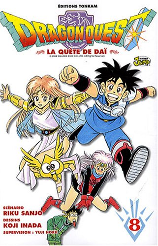 9782845808409: Dragon Quest, Tome 8 (French Edition)