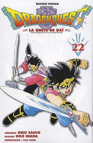 DRAGON QUEST T.22: SANJO RIKU