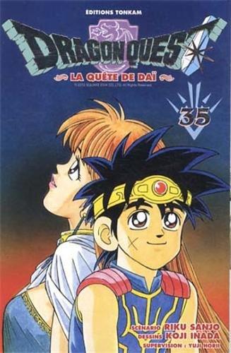 9782845808676: Dragon quest - La quête de Dai Vol.35