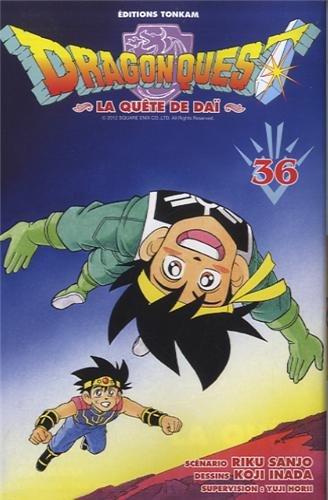 9782845808683: Dragon quest - La qu�te de Dai Vol.36