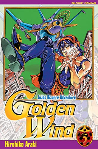 9782845809116: Jojo's Bizarre Adventure - Golden Wind, Tome 5 : (Shonen)