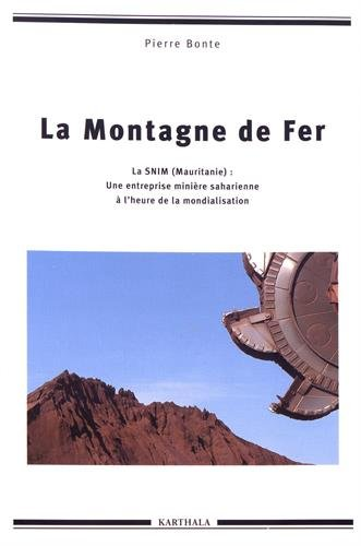 9782845862227: La montagne de fer: La SNIM, Mauritanie : une entreprise minie?re saharienne a? l'heure de la mondialisation (French Edition)