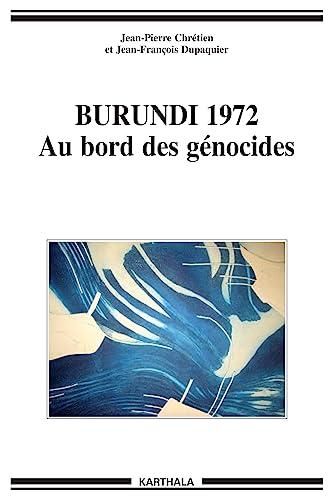 9782845868724: Burundi 1972 (French Edition)