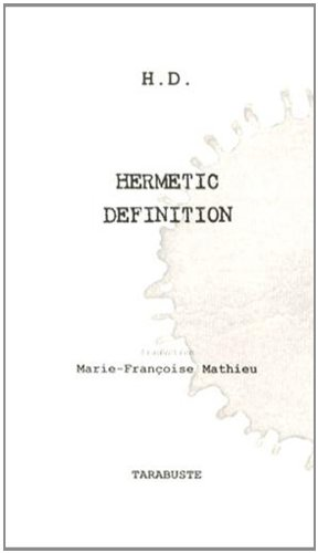 9782845871434: Hermetic Definition