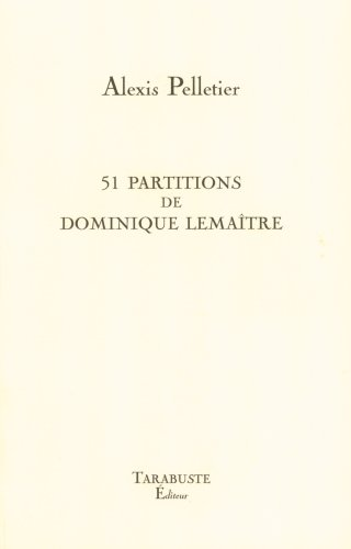 9782845871748: 51 partitions de dominique lemaître