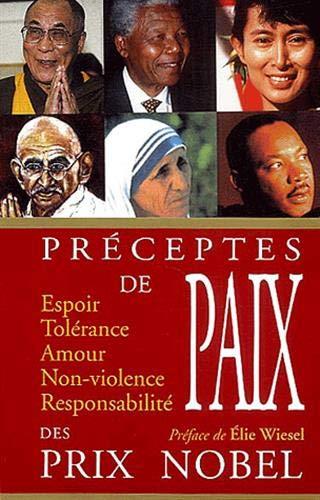 preceptes de paix des Prix Nobel: Bernard Baudouin