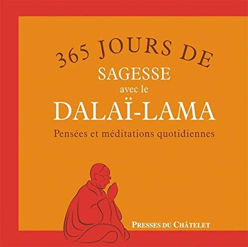 9782845923645: 365 jours de sagesse avec le dala�-lama