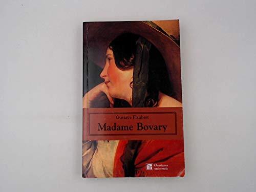 Madame Bovary: Flaubert, Gustav