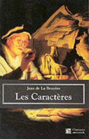 9782845950122: Les Caracteres