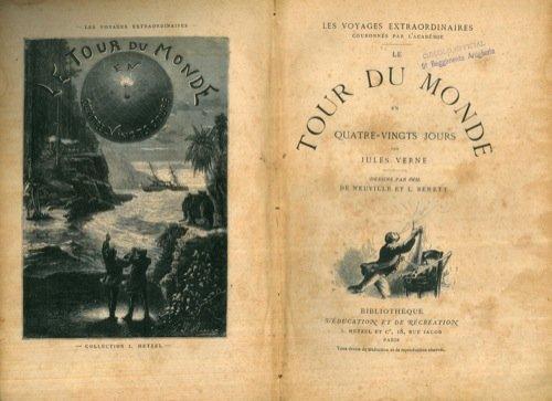 9782845950313: Le Tour Du Monde En Quatre Vingts Jours