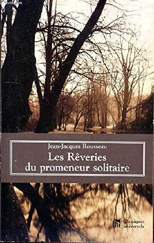 9782845950511: Les Reveries du promeneur solitaire