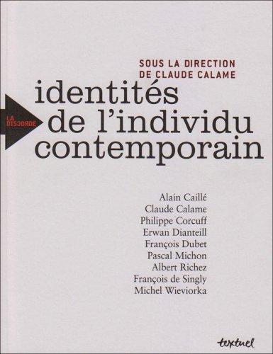 9782845972636: Identités de l'individu contemporain