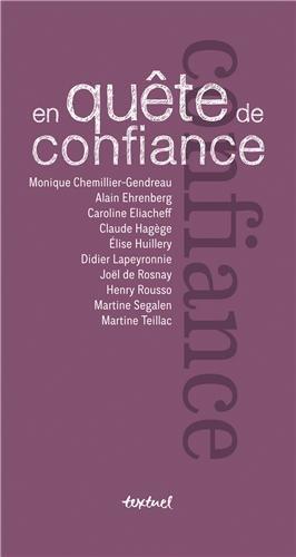 EN QUETE DE CONFIANCE: COLLECTIF