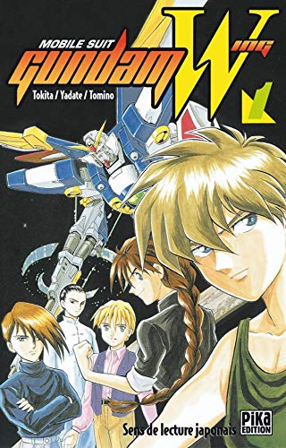 MOBILE SUIT GUNDAM WING 3 Vols.
