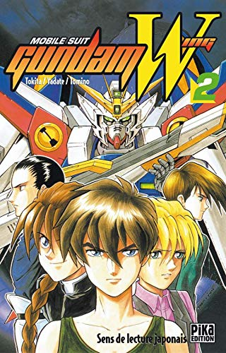 9782845991712: Mobile Suit Gundam Wing, tome 2