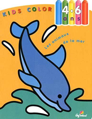 9782846061322: Les animaux de la mer - Kids color 4-6ans