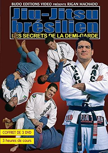 9782846171748: Brazilian jiu-jitsu: Secrets of the half guard (set of 3 DVDs) [DVD]