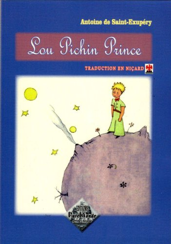 9782846180641: Lou Pichin Prince (Traduction en Nicard)