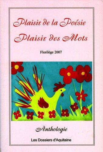 9782846221511: Plaisir de la poésie ou le plaisir des mots (French Edition)