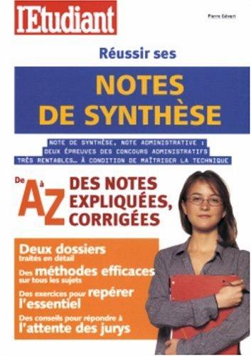 9782846243957: R�ussir ses notes de synth�se