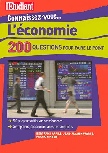 9782846249010: L'économie : 200 Questions pour faire le point