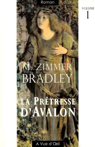 9782846660419: La prêtresse d'Avallon. Tome 1 [ édition en gros caractères ]