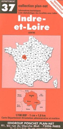 9782846670364: Carte routière : Indre-et-Loire