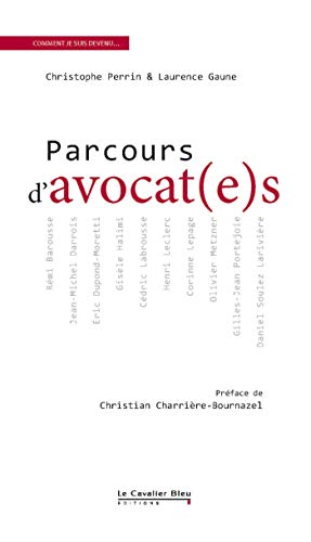 9782846703307: Parcours d'avocat(e)s