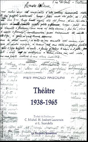 theatre, 1938-1965 (9782846811330) by [???]