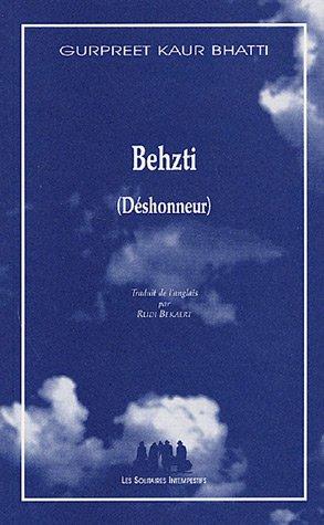 9782846811750: Behzti (Déshonneur)