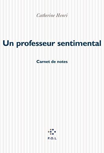 9782846820639: Un professeur sentimental: Carnet de notes