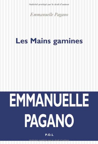 9782846822732: Les Mains gamines (French Edition)