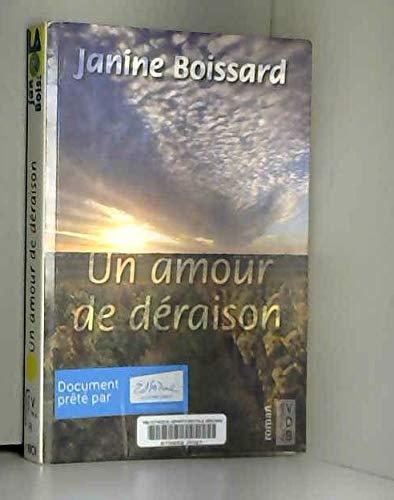 9782846946506: UN AMOUR DE DÉRAISON