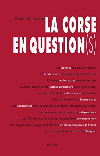 9782846980654: La Corse en question(s)